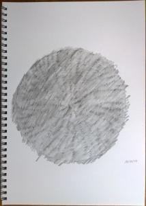 Frottage 18/09/15 (29.7x42cm)