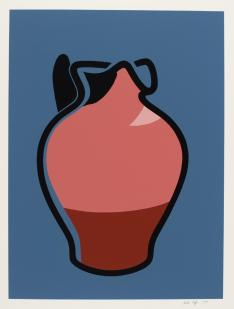 Brown Jug 1982 Patrick Caulfield 1936-2005 Purchased 1982 http://www.tate.org.uk/art/work/P07755