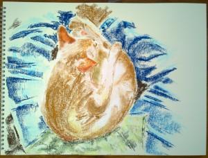pastel on Ingres 1_2.11.15_(40x30cm)