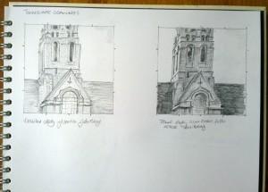 sketch_25.01.16_(28x20cm)_Saint Jude's Church, London NW11