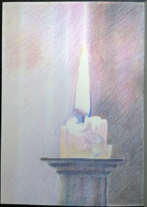 sketch_16.01.17_(29.4x42cm) Candle Kneel