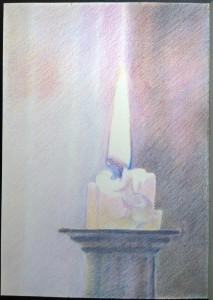 sketch_16.01.17_(29.4x42cm) Candle Kneel