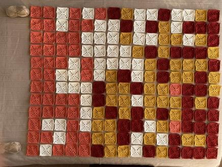 Cover n.13 Patient squares